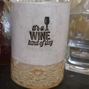 Ceramic wine cooler Handmade ceramics